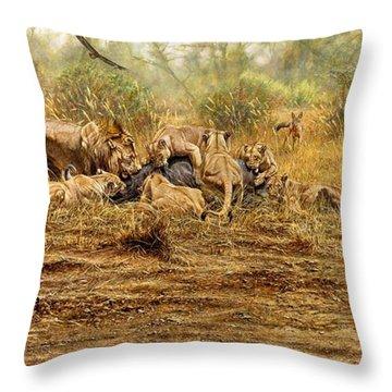 The Kill Throw Pillow