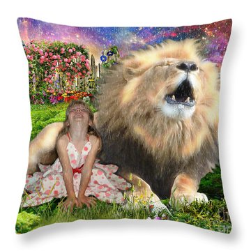 The King And I Throw Pillow