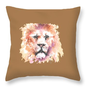 The King T-shirt Throw Pillow by Herb Strobino