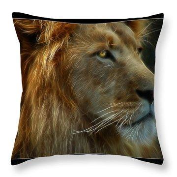 The King Throw Pillow