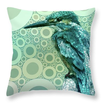 The Kingfisher Throw Pillow