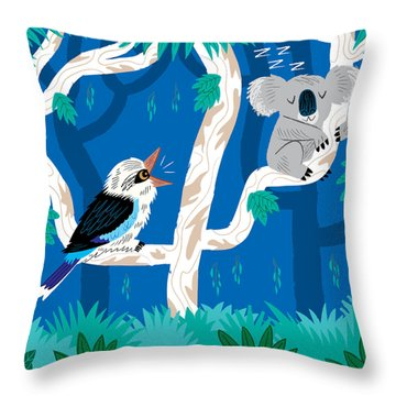 Koala Throw Pillows