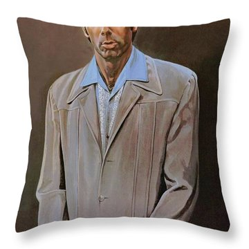 The Kramer Portrait  Throw Pillow