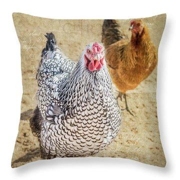 The Ladies Throw Pillow