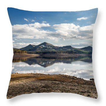 The Lake Throw Pillow
