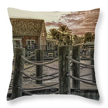 The Landing Throw Pillow