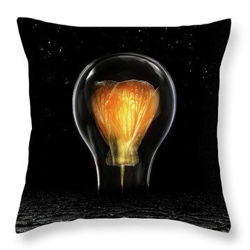 The Last Bright Light Throw Pillow