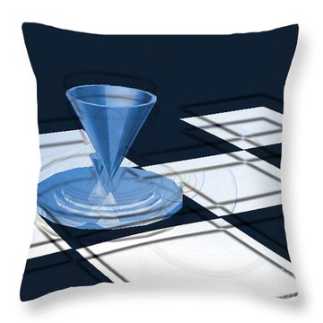 The Last Chess Pawn Throw Pillow
