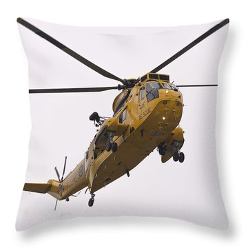 The Last Final Approach Throw Pillow