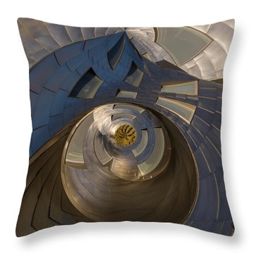Throw Pillow featuring the photograph The Last Garden by Alex Lapidus