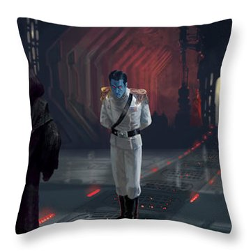 The Last Grand Admiral Throw Pillow