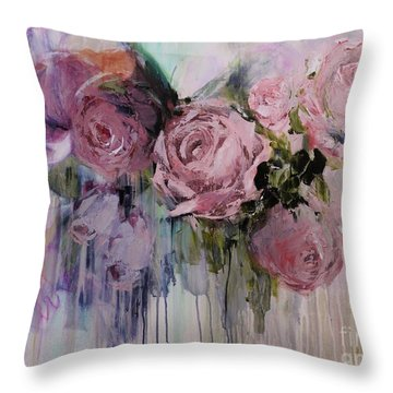 The Last Of Spring Painting Throw Pillow