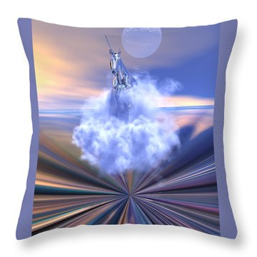 The Last Of The Unicorns Throw Pillow