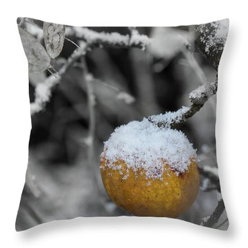 The Last One On The Tree Throw Pillow