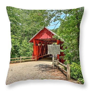 The Last One  Throw Pillow