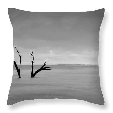 I'm Not Alone - Folly Beach Sc Throw Pillow