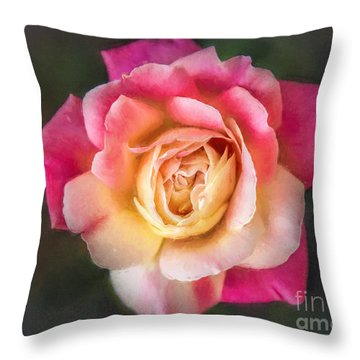 The Last Rose Of Summer, Painting Throw Pillow