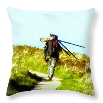 The Last Shot Throw Pillow