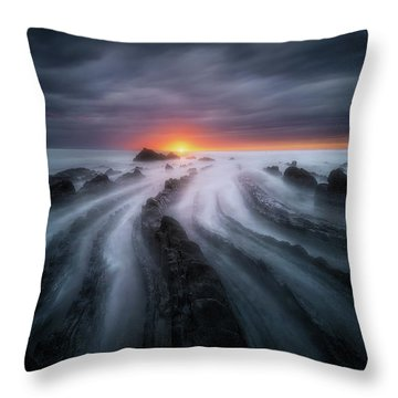 The Last Sigh Throw Pillow