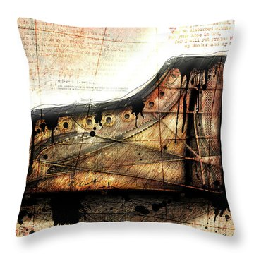 The Last Sonata Throw Pillow