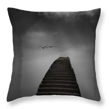The Last Steps Throw Pillow