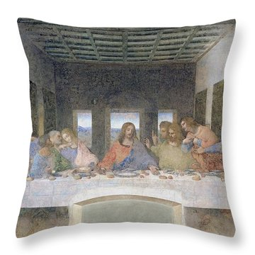 Apostles Throw Pillows