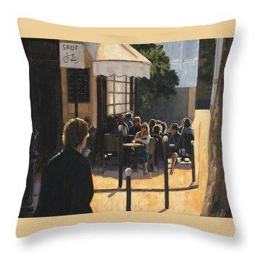 The Latin Quarter Throw Pillow