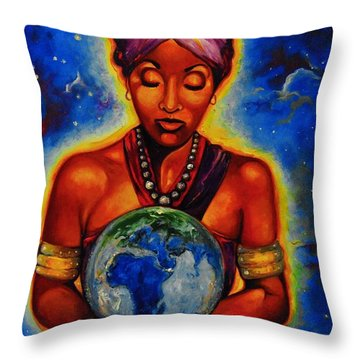 The Law Of Attracion Throw Pillow
