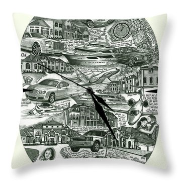 The Law Of Attraction Throw Pillow