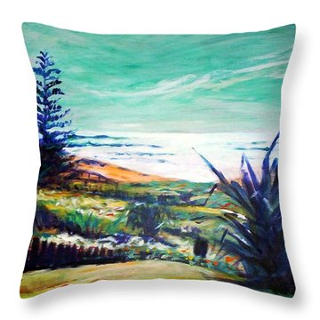 The Lawn Pandanus Throw Pillow