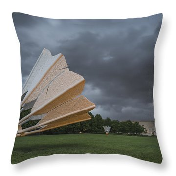 The Lawn Throw Pillow
