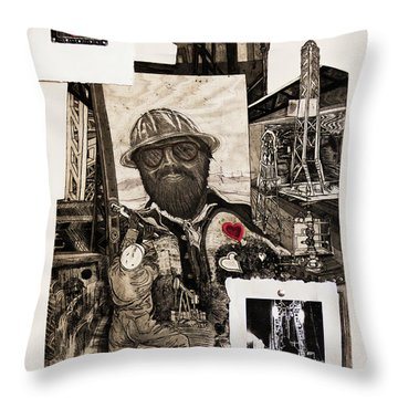 The Legend Of Riggo Maddix Throw Pillow