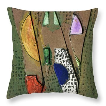 The Letter W Throw Pillow