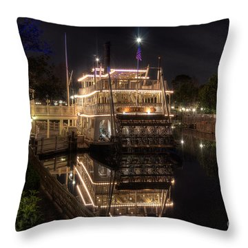 The Liberty Belle Throw Pillow
