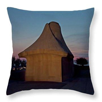 The Liberty Memorial Sphinx Throw Pillow