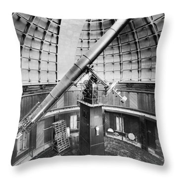 The Lick Observatory Throw Pillow