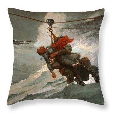 The Life Line Throw Pillow