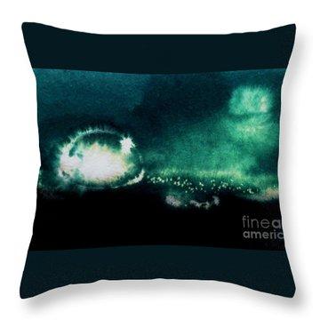 The Light Throw Pillow by Annemeet Hasidi- van der Leij