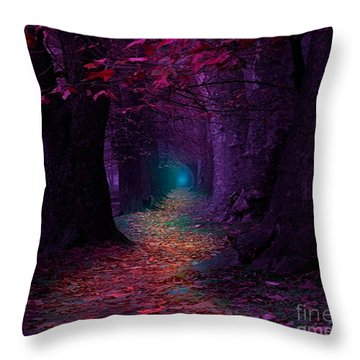 The Light At The End Throw Pillow