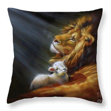 Isaiah - The Light Throw Pillow
