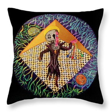 The Light Himself Throw Pillow
