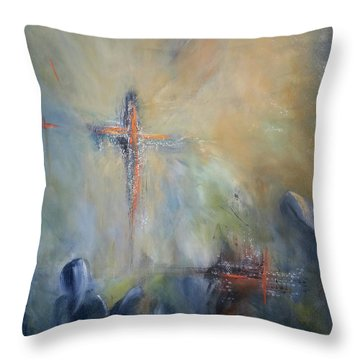 The Light Of Christ Throw Pillow