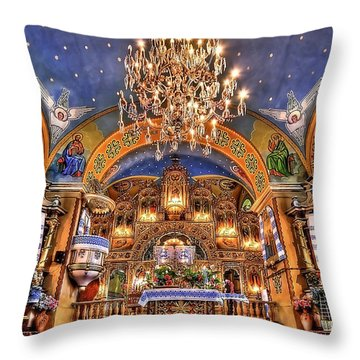 The Light Within Throw Pillow by Evelina Kremsdorf