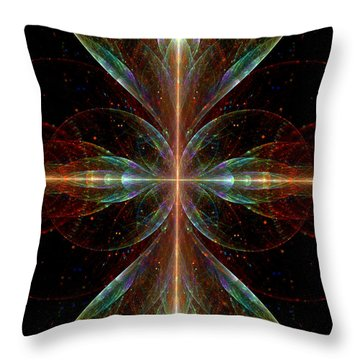 The Light Within Throw Pillow by Lea Wiggins