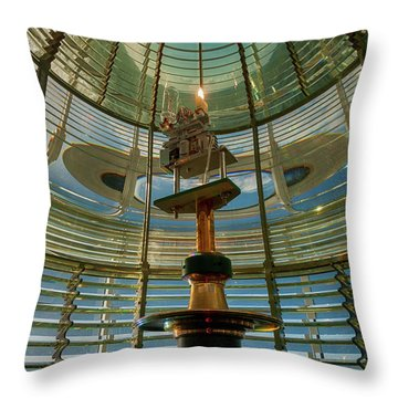 Throw Pillow featuring the photograph The Light Within by Mary Jo Allen