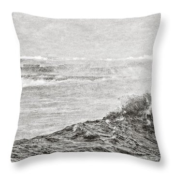 The Lighthouse Throw Pillow by Everet Regal
