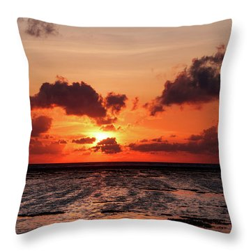Throw Pillow featuring the photograph The Limitless Loving Devotion by Jenny Rainbow