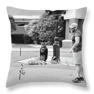 The Links To Freedom Throw Pillow