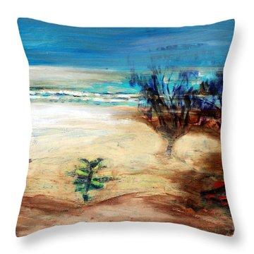The Little Pine Tree Throw Pillow