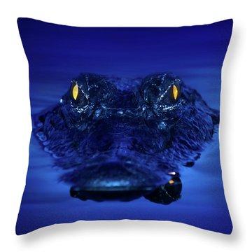 The Littlest Predator Throw Pillow